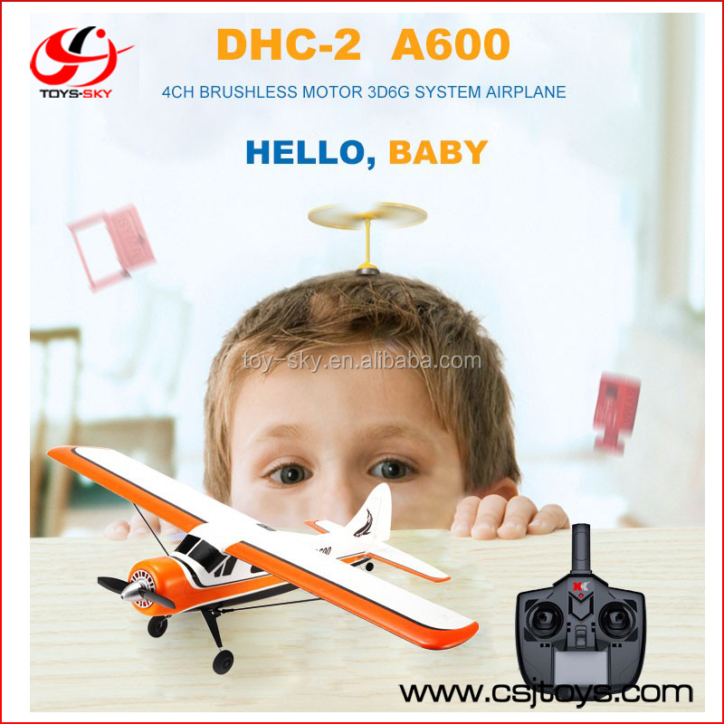 kids toys RTF glider A600 remote control 3D6G simulator plane rc airplane for sale