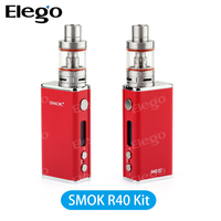 2016 Smok Newest Original Vape Mods 40w Tc Box Mod Smok R40 Micro Basic Tank Kit