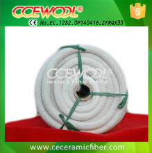 Heat insulation and sealing ceramic fiber rope supplier