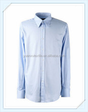 OEM classic long sleeve spring autumn shirt big size for men white, sky blue, pink color, cotton 100%