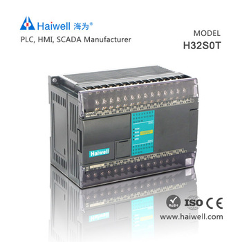 Haiwell H32S0T transistor PLC control logic controller for solar control systems