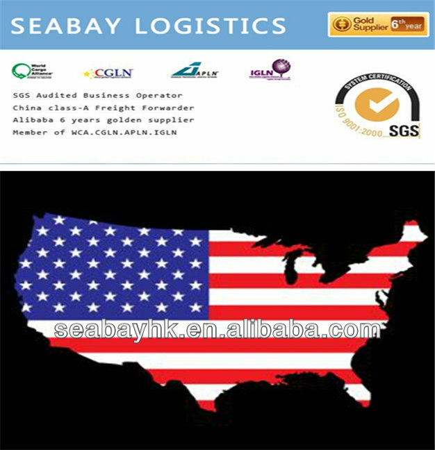 Sea shipping service from Shenzhen to Oklahoma City,USA