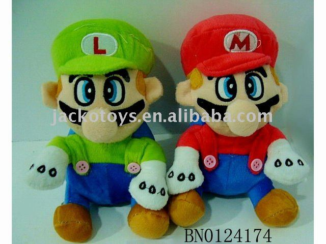 Plush Toy Super Mario(6 inch)