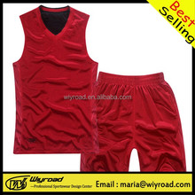 Accept sample order cheap reversible basketball uniforms/custom sublimated basketball wear/Custom basketball clothes