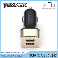 Pure copper coil to make sure stable output current 5V 4.8A 24W 2 usb port child electric car charger