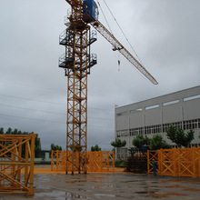 12 Months warranty used 8t jib tower crane for sale