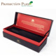 2018 hot design low MOQ luxury customized PU covered wine paper box