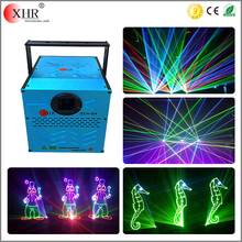 mini analog rgb 30kpps laser light show system,5 watt disco stage multicolor laser light projector