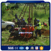 Cheap 100m portable shallow well drilling rig for sale