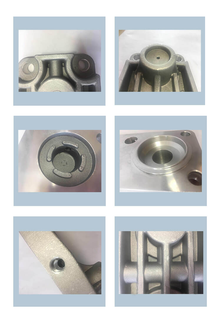 Densen Customized Aluminum Alloy Die Casting Parts Die Gravity Casting For Automobile