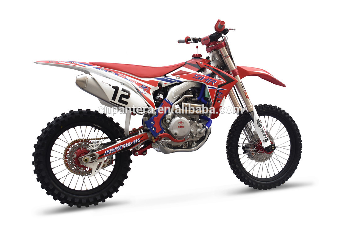 Aluminum Alloy Frame 4 Stroke 450cc Water Cooled Adult Dirt Bike