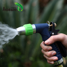 Superior quality multi waterjet garden hose mist spray nozzle car wash high pressure water gun with TPR cover