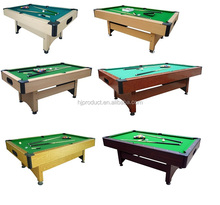 Economic 8ft 3 cushion billiard table for sale