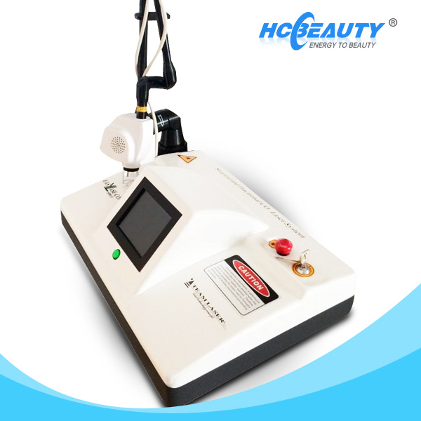 Acne scars and vaginal tightening machine protable fractional co2 laser