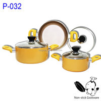 Ningbo Zaixing pressed aluminum non-stick casserole with lid
