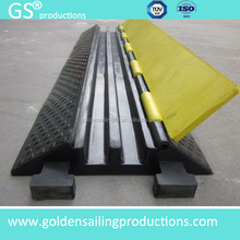 Hot selling rubber cable ramp / cable protector/guard/hump