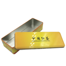 Merry Christmas Gift Box Special Tin Packaging/Red Tin Tea Box/Tin Gift Boxes