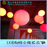 Hot Sales Romantic Delicate Beautiful All Kinds Of Size Colorful LED Waterproof Remote Control Christmas Decorative Ball Light