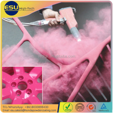 High Gloss Car Sports Rim Epoxy Polyester Electrostatic Spray Paint Powder Coating