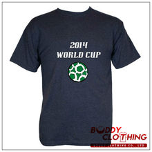 Custom navy blue t-shirt for world cup brazil 2014