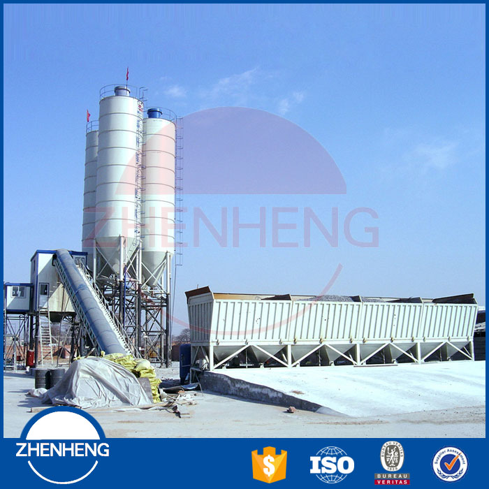 Quality Assurance Universal Twin Shaft Ready Made Projects Concrete Batching Plant