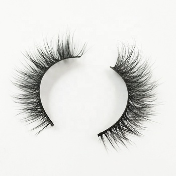 Box packaging eyelashes 100% real mink fur lashes 3d lashes mink  3d mink eyelashes strips