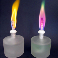 High-quality color liquid flame candle for outdoor bars and clubs dedicated liquid candle