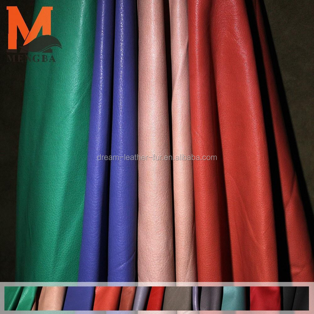 genuine full grain cow leather calf skin for garment