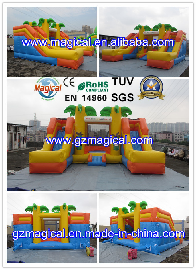 Halloween inflatable bounce castle inflatable castle house inflatable castle
