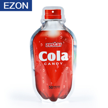 made in China carbonated beverage shape drink bag with heat seal