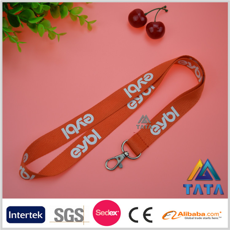 New brand 2016 customized design polyester lanyards wholesale online