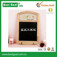 Zakka kids wood hanging blackboard bar ad blackboard