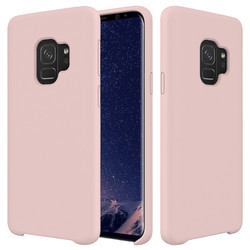 Solid Color Flexible Soft Liquid Silicone Protective Case Cover for Samsung Galaxy S9 Plus