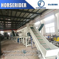 High quality small scale plastic recycling plant / plastic bottle crushing machine in suzhou jiangsu province