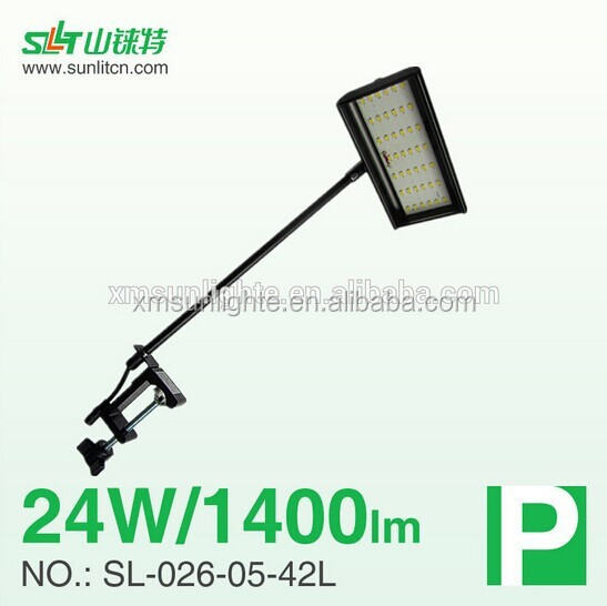 exhibition arm booth led light, long arm spotlight, gooseneck led light SL-026-05-42L