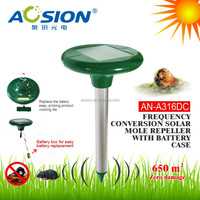 High Quality Expel Pest Products Frequency conversion replaceable batteries solar rodent repeller