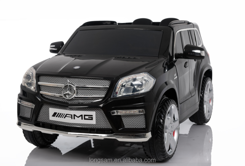 plastic type rc toy car,wholesale battery power electric kids car,licensed Mercedes-Benz GL63 ride on car