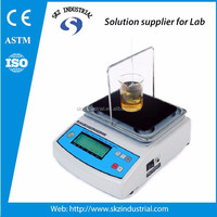 LCD direct readings digital liquid densitometer