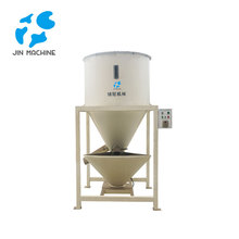 Jin Machine High efficient plastic vertical screw mixer machine vertical mixer for plastic PA/PE/PET/PVC/ABS