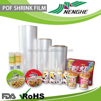 High quality polyolefin shrink film Packaging film for foods