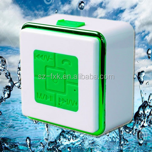 2016 good selling suction cup mini wireless waterproof bluetooth speaker with fm radio