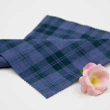 40s Woven poly cotton yarn dyed check fabric