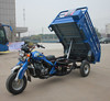 200cc water cooling 4 stroke cabin cargo three wheel dumper motorized cargo tricycle 3 wheeler tricycle for Pakistan market