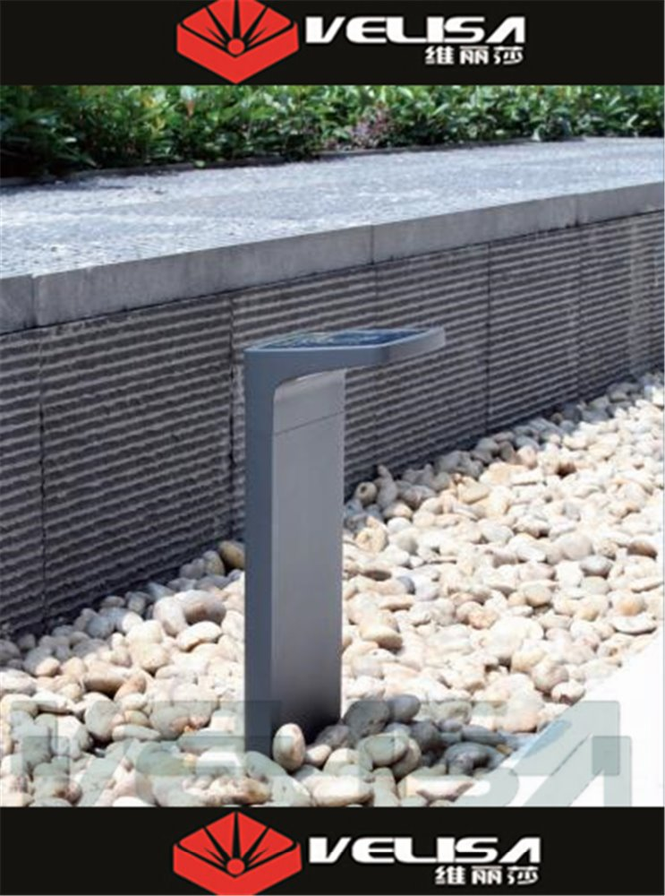 Best Selling 5.6W solar led garden light /solar led bollard light/ solar led lawn light With Motion