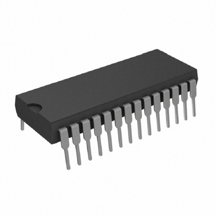 IC 12-BIT 4+4+4 PORT D/A 28-DIP Data Acquisition - Digital to Analog Converters (DAC) DAC811JP