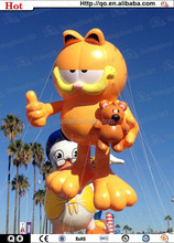 Competitive price vivid funny inflatable garfield for china sale