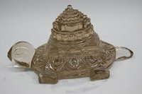 Crystal Tortoise With Pyramid