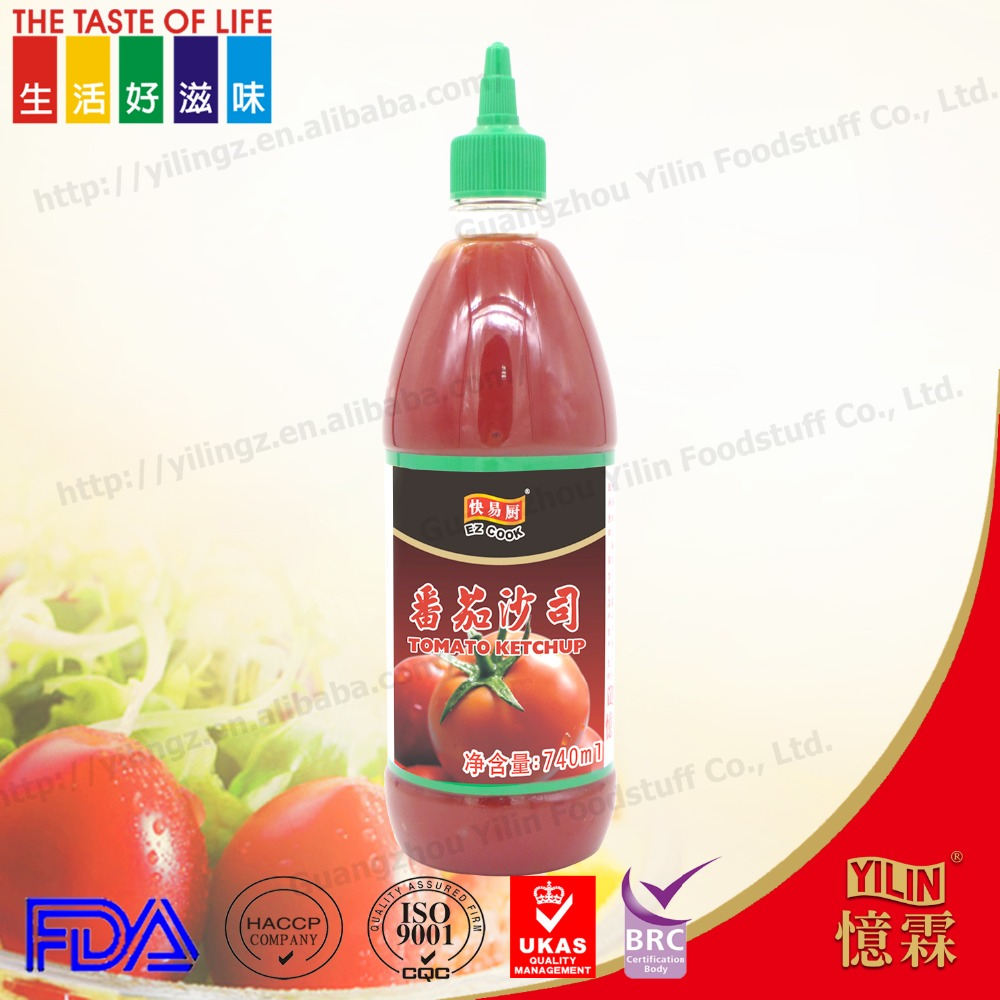 740ml prepared seasoning sauce tomato ketchup tomato sauce tomato paste