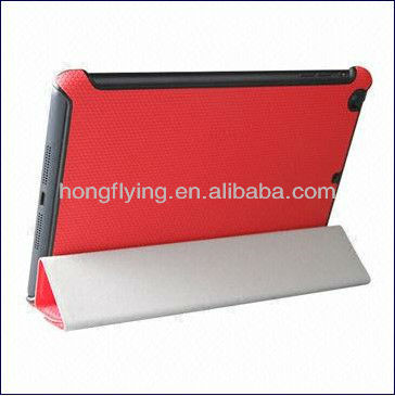Folio Cases for iPad Mini with Standing and Sleeping (Dormancy) Function, OEM are welcome