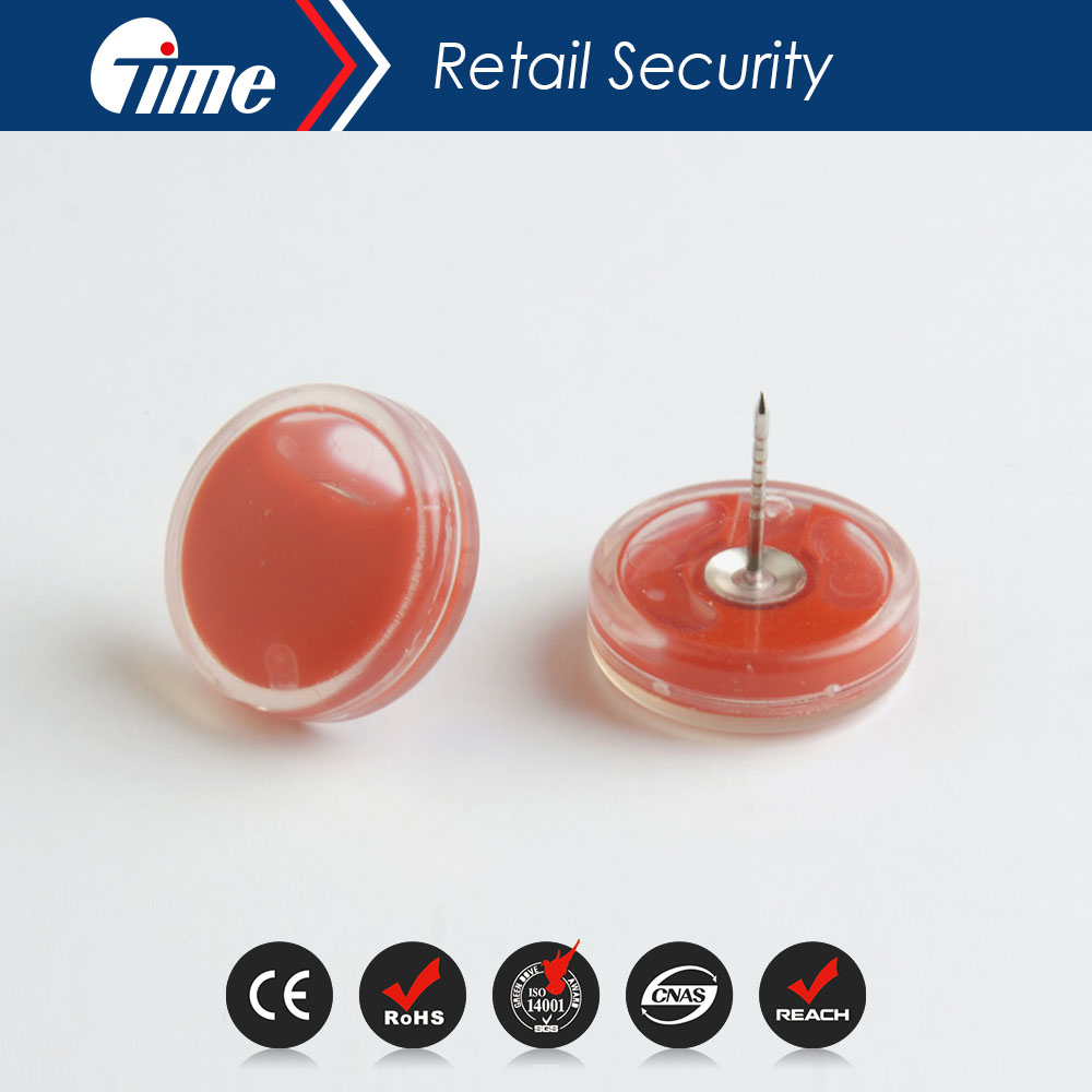 Ontime BD3318 Ink Tube Tag Pin With Smooth Nail Surface,Anti-theft Eas Ink Tag Pin For Hard Tags